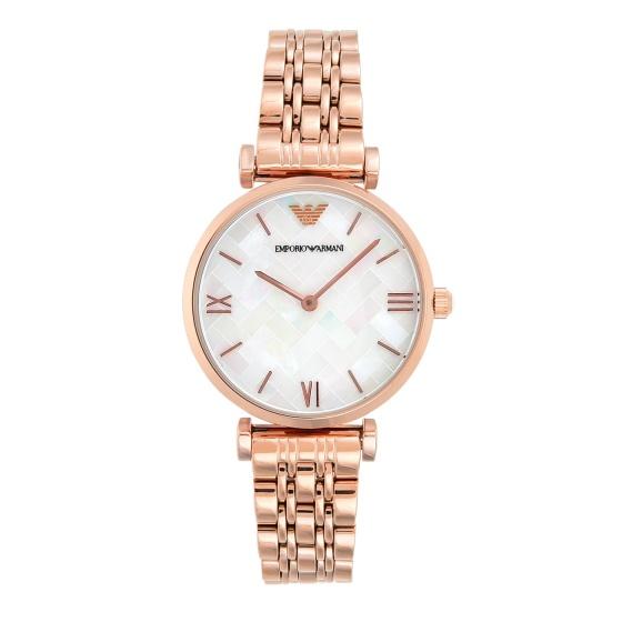 Đồng hồ nữ chính hãng Emporio Armani AR11110 bảo hành toàn cầu - Máy pin dây thép không gỉ