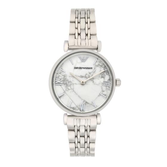 Đồng hồ nữ chính hãng Emporio Armani AR11170 bảo hành toàn cầu - Máy pin dây thép không gỉ