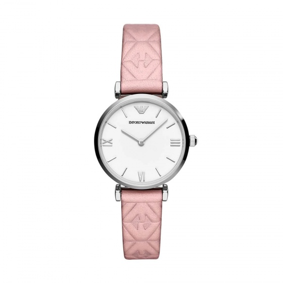 Đồng hồ nữ chính hãng Emporio Armani AR11205 bảo hành toàn cầu - Máy pin dây da tổng hợp