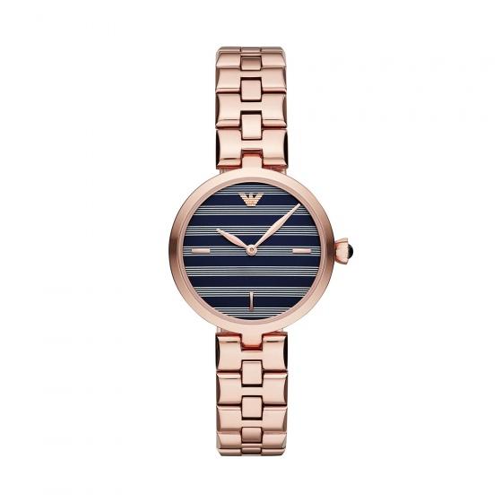 Đồng hồ nữ chính hãng Emporio Armani AR11220 bảo hành toàn cầu - Máy pin dây thép không gỉ