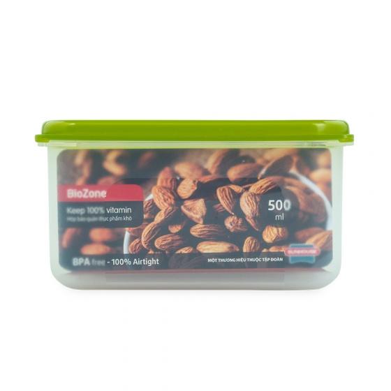 (SIÊU SALE) Hộp bảo quản thực phẩm khô BioZone KB-DR500P
