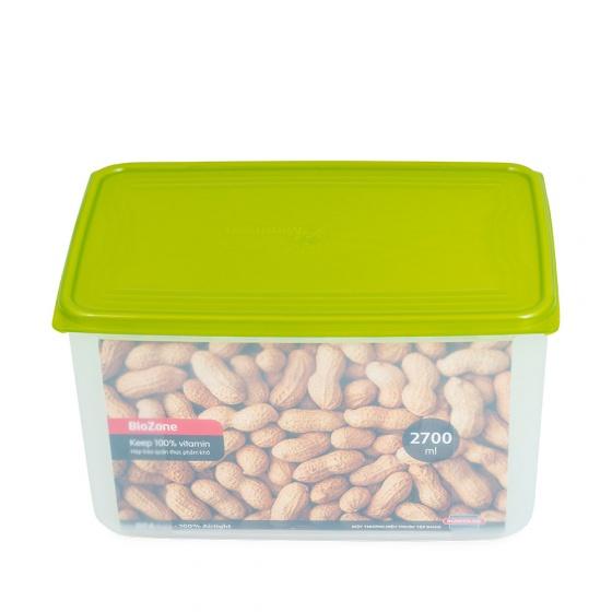(Siêu sale) Hộp bảo quản thực phẩm khô BioZone KB-DR2700P