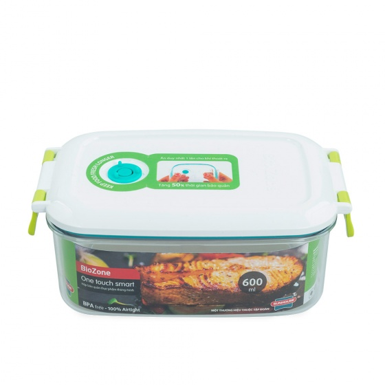 (Siêu sale) Hộp bảo quản thực phẩm thông minh BioZone KB-SM600S