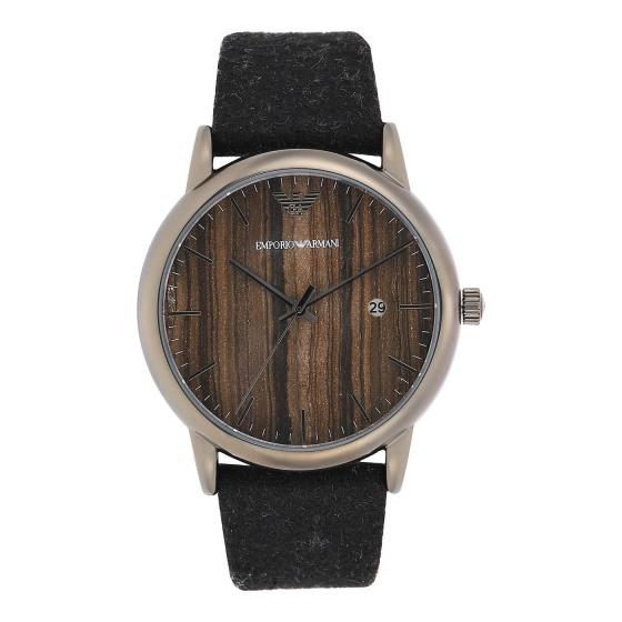 Đồng hồ nam chính hãng Emporio Armani AR11156 bảo hành toàn cầu - Máy pin dây da tổng hợp