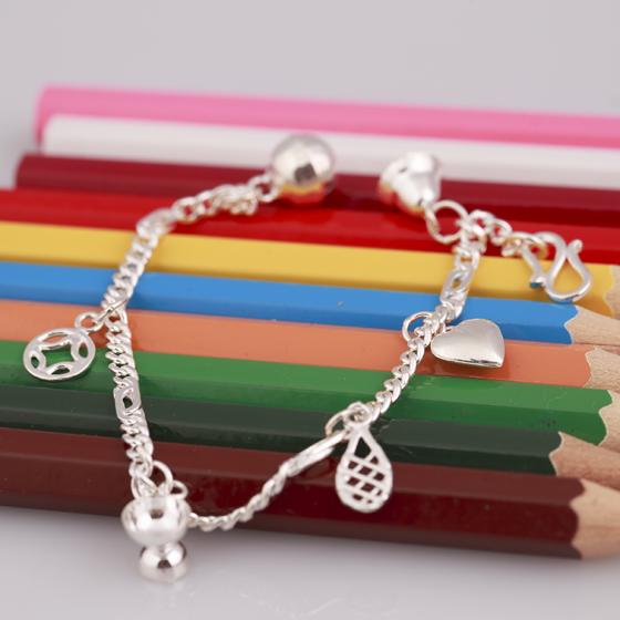 Opal - lắc tay bạc cho bé với thiết kế xinh xắn - T8