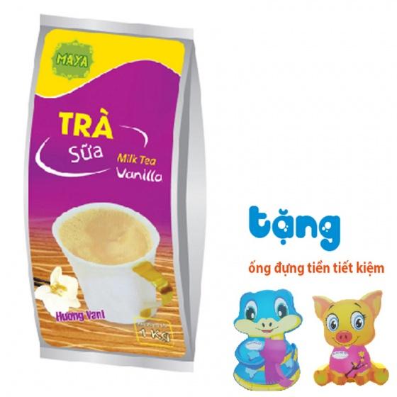 Trà sữa hòa tan Maya Vani túi 1kg + quà tặng