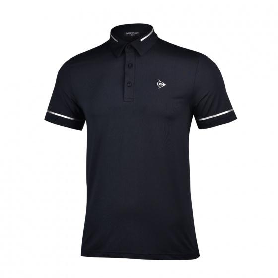 Áo thể thao Tennis nam Dunlop - DATES9069-1C-BK (đen)