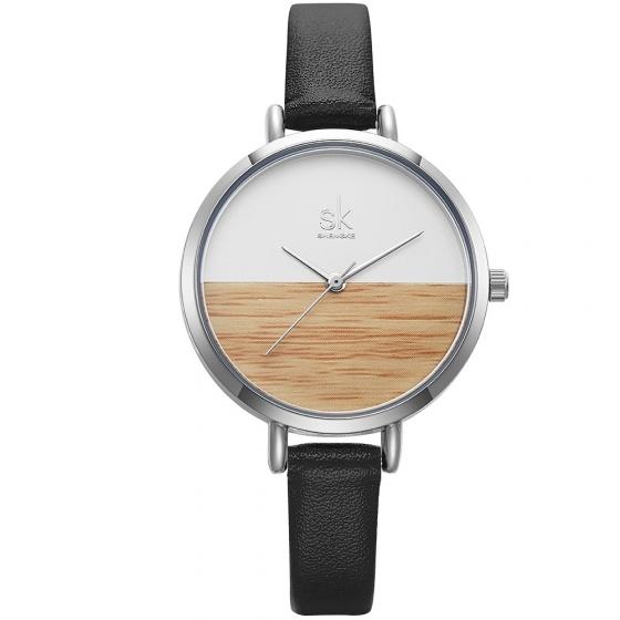 (SIÊU SALE) Đồng hồ nữ chính hãng Shengke UK K8036L-02 đen