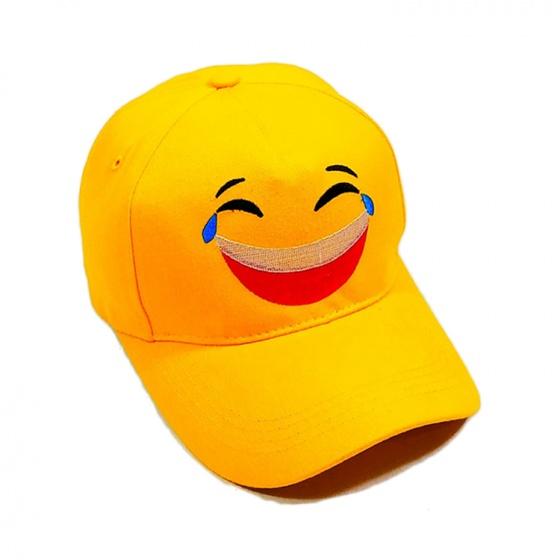 Nón kết - mũ lưỡi trai kaki nam nữ icon mặt cười NON0219K Lorganic