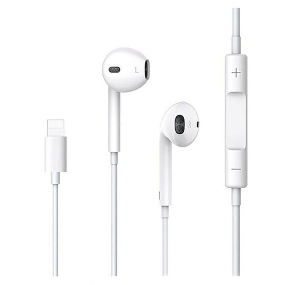 Tai nghe Earphone có dây Lightning kèm mic cho iPhone 7, 7Plus USAMS EP-24 hoặc các dòng điện thoại có cổng Lightning