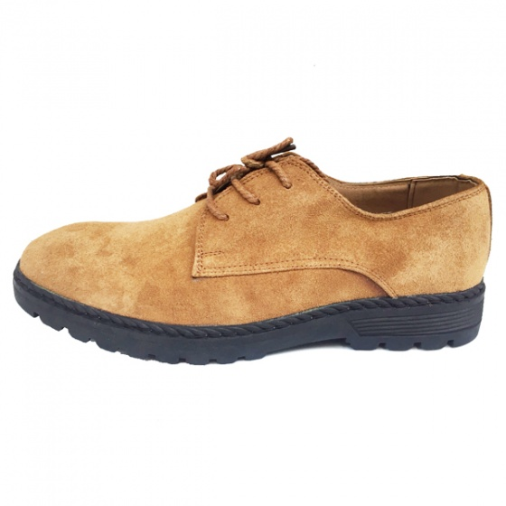 Giày doc nam da bò lộn bảo hành 1 năm ( 2H - 65 ) + tặng ví và tất khử mùi cao cấp