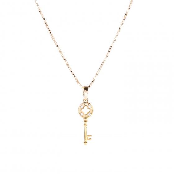 Mặt dây chuyền vàng đính đá DOJI 14K 0819P-LAL319