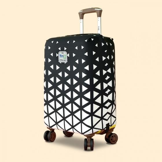 Áo trùm vali thun 4 chiều Trip Snowflake (tam giác) size S