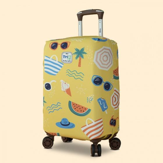 Túi bọc vali vải thun 4 chiều Trip Summer (mùa hè) size S