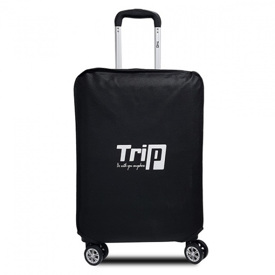 Túi bọc vali vải không dệt Trip size S đen