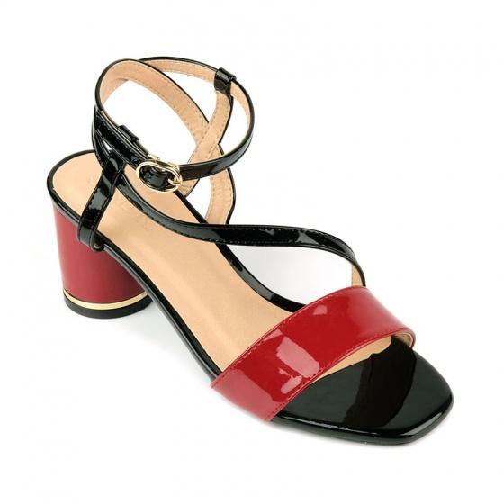 Sandal đế vuông êm chân Sunday DV55 đen
