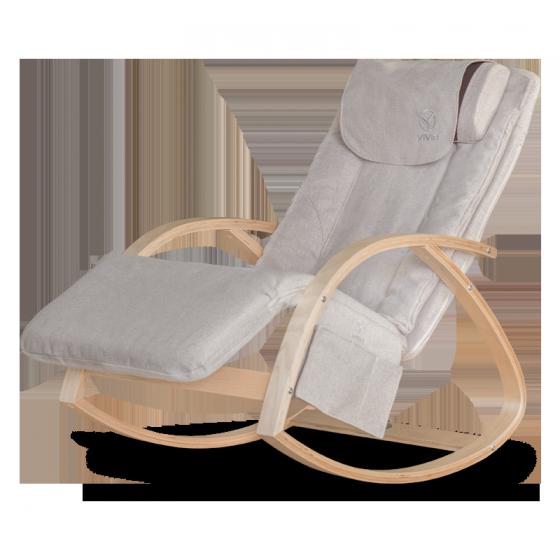 Ghế massage Vivir - ghế thư giãn, thiết kế sang trọng, trẻ trung (be, xanh, nâu)