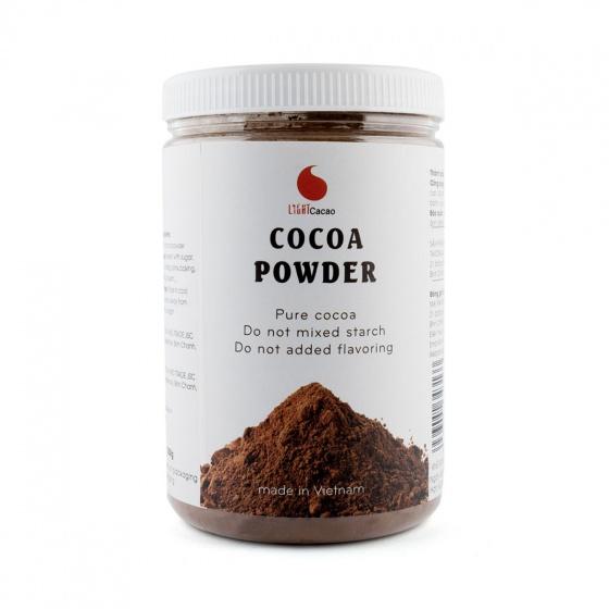 Cacao nguyên chất hũ 350g Light coffee