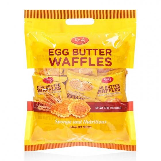 Bánh bơ trứng Richy túi 270g