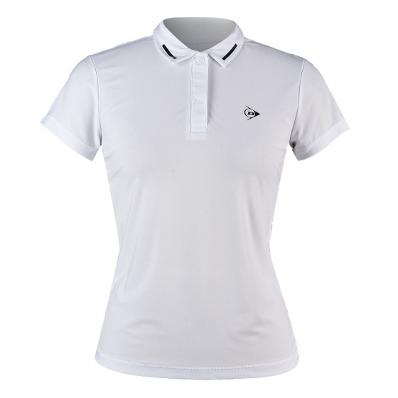 Áo Tennis nữ Dunlop - dates9098-2c-wt (Trắng)