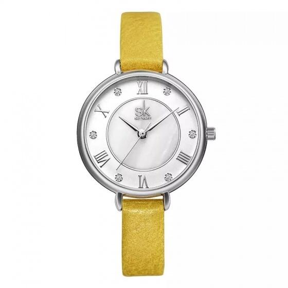 Đồng hồ nữ chính hãng Shengke Korea K9002L-01 Vàng