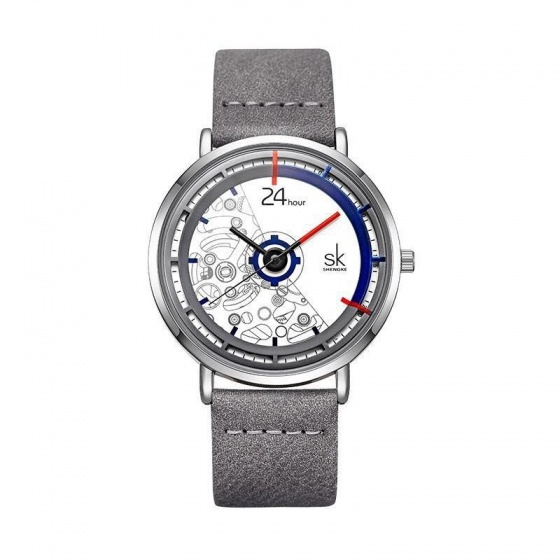 Đồng hồ nam chính hãng Shengke UK K9004G-03 xám