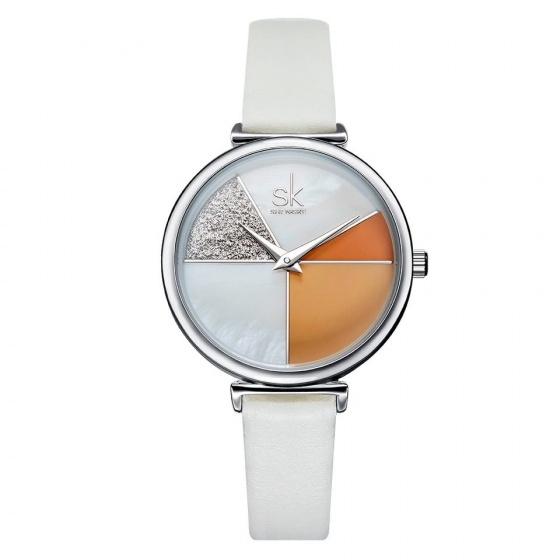 Đồng hồ nữ chính hãng Shengke UK 11K0109L-01 Trắng