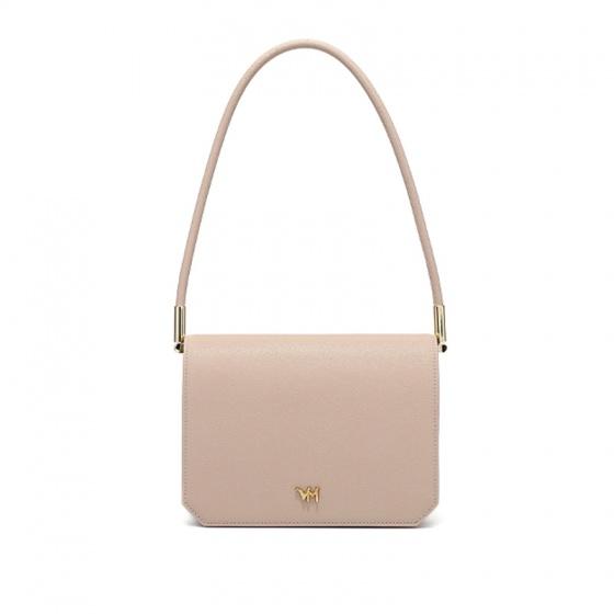 Túi da thật A50 - hồng phấn - K01A50