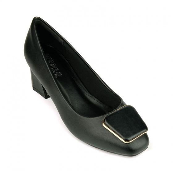 Giày cao gót êm chân Sunday CG44 đen