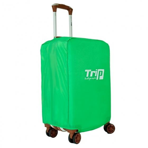 Áo trùm vali TRIP vải dù size M màu xanh lá