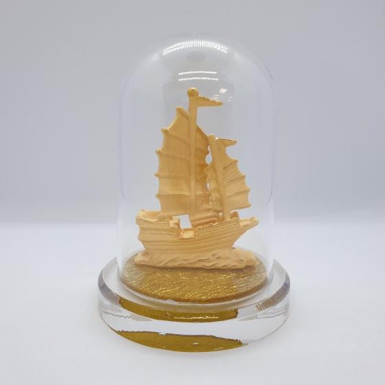Thuận Buồm Xuôi Gió - Quà tặng mỹ nghệ Kim Bảo Phúc phủ vàng 24k DOJI
