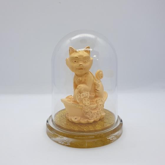 Kim Giáp Mão - quà tặng mỹ nghệ Kim Bảo Phúc phủ vàng 24k DOJI
