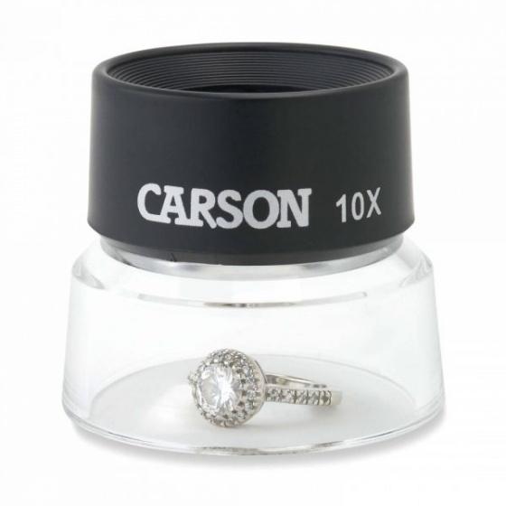 Kính lúp cầm tay cao cấp Carson LL-10 (10x) - hàng chính hãng