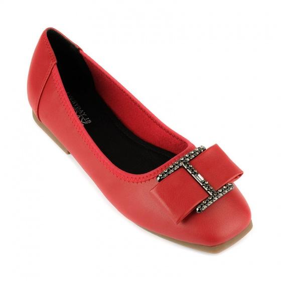 Giày búp bê êm chân Sunday BB38 đỏ