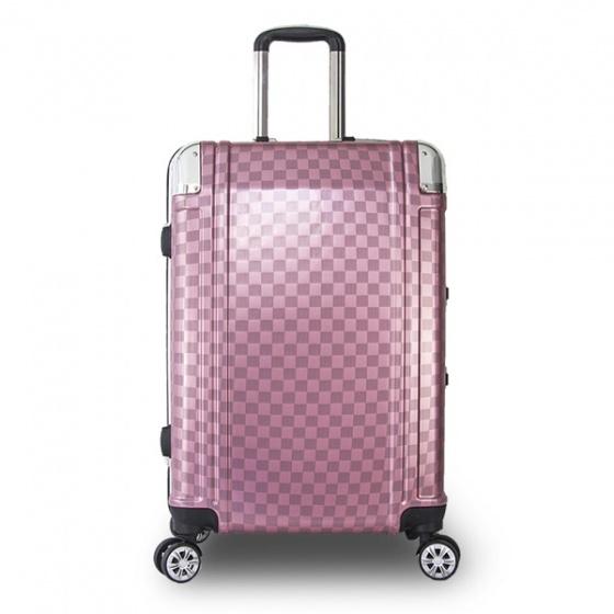 Vali khung nhôm Trip A08 size 60cm hồng