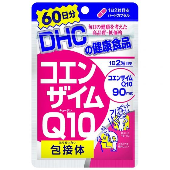 Viên uống chống lão hóa trẻ da DHC COENZYME Q10 gói 60 ngày (120 viên)