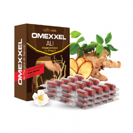 Viên uống tăng cường sinh lý nam Omexxel Ali 30 viên