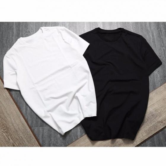 Áo thun trơn 2 màu trắng đen Model Fashion ATI0001
