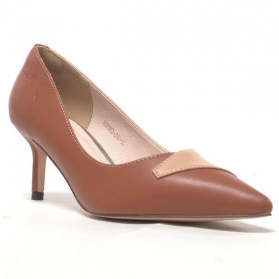 Giày cao gót Pierre Cardin PCWFWSD094BRW màu nâu