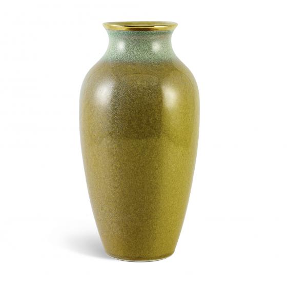 Bình hoa hỏa biến 27 cm - Xanh Vân Ngọc 5