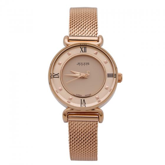 Đồng hồ nữ Julius Hàn Quốc JA-728D dây thép
