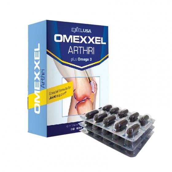 Viên uống bổ khớp, ngăn ngừa thoái hóa khớp Omexxel Arthri (30 viên) - xuất Xứ Mỹ