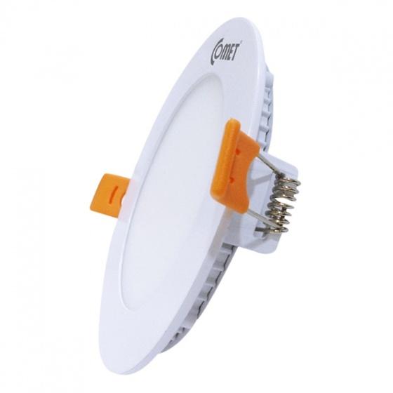 Bộ 2 đèn Led âm trần siêu mỏng tròn Fighter Comet 7W CD03F007 - ánh sáng vàng