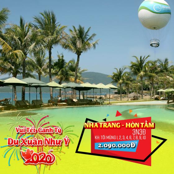 Tour Nha Trang - Hòn Tằm 3N3Đ Tết Nguyên Đán 2020