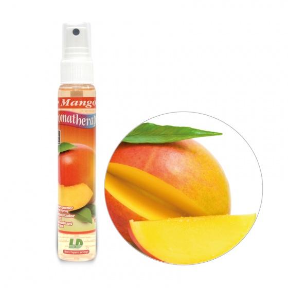 Nước hoa ô tô dạng xịt LD AROMATHERAPY Mango