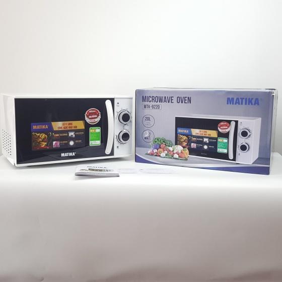 Lò vi sóng Microwave Oven Matika MTK-9220 - có chức năng nướng