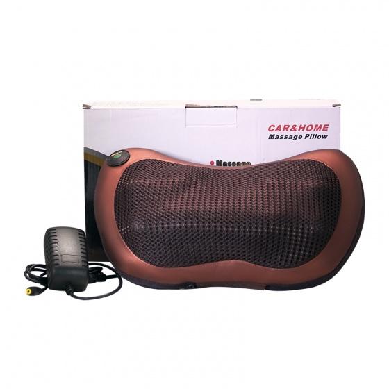 Gối massage hồng ngoại 8 bi pillow 8028 thế hệ Mmới (tặng kèm sạc)