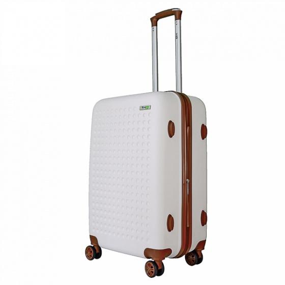Vali Trip P803A Size 60cm màu trắng (tặng 1 gối cổ màu ngẫu nhiên)