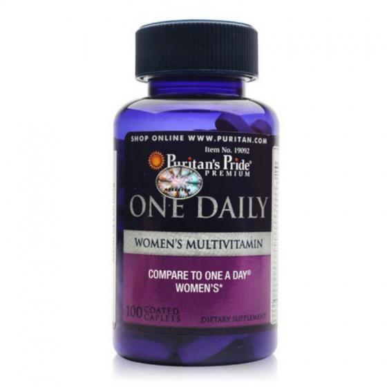 Vitamin tổng hợp nữ One Daily Women's Multivitamin Puritan's Pride 100 viên