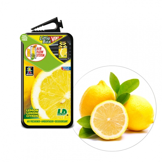 Hộp thơm ghim máy lạnh LD LITTLE BOX Hương chanh 5ML